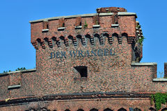 Wrangel Tower - strengthening of Koenigsberg. Kaliningrad, Russi Royalty Free Stock Images