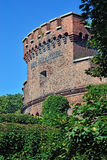 Wrangel Tower - stronghold of Koenigsberg. Kaliningrad, Russia Royalty Free Stock Photography
