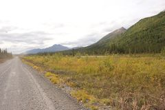 Wrangell-Rue. Elias Photos stock