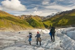 Wrangell-Rue. Elias Photographie stock libre de droits