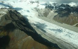 wrangell st национального парка elias Стоковое Изображение