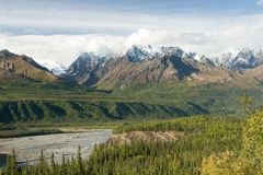 Wrangell-St. Elias Royalty Free Stock Photography