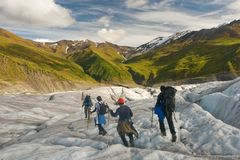 Wrangell-St. Elias Royalty Free Stock Images