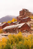 Wrangell St Elias Kennecott Mines Concentration Mill Alaska Wild Royalty Free Stock Images