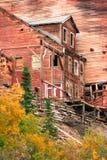 Wrangell St Elias Kennecott Mines Concentration Mill Alaska Wild Royalty Free Stock Image