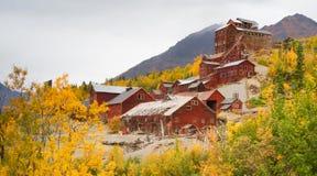 Wrangell St Elias Kennecott Mines Concentration Mill Alaska Wild Stock Photography