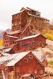 Wrangell St Elias Kennecott Mines Concentration Mill Alaska Wild Royalty Free Stock Photo