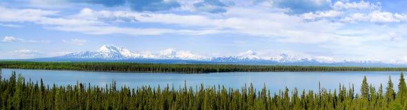 Wrangell-st Elias National Park e prerogativa, Alaska Fotografia Stock
