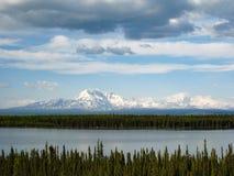 Wrangell-St Elias National Park en Domein, Alaska Stock Foto's