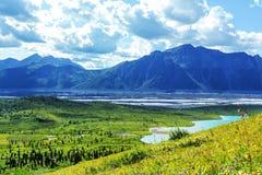 Wrangell-StElias NP 库存照片
