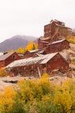 Wrangellst Elias Kennecott Mines Concentration Mill Alaska Wildernis royalty-vrije stock afbeeldingen