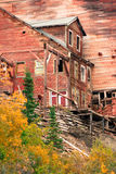 Wrangellst Elias Kennecott Mines Concentration Mill Alaska Wildernis royalty-vrije stock afbeelding