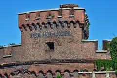 Wrangeltoren - bolwerk van Koenigsberg Kaliningrad, Rusland royalty-vrije stock afbeeldingen
