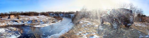 Wrangler виллиса, Россия Стоковые Изображения RF