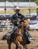 Wrangler del rodeo immagini stock