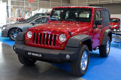 Wrangler do jipe Foto de Stock