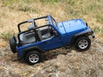 Wrangler lateral Rubicon del jeep del pasajero Fotografía de archivo