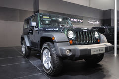 Wrangler Rubicon de jeep Photos libres de droits