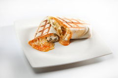 Wrap cheese Royalty Free Stock Photo