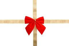 Wrap a gift stock photo