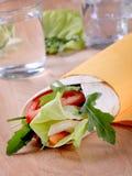 Wrap sandwich Stock Photography