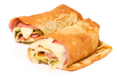 Wrap sandwich Royalty Free Stock Image