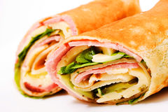 Wrap sandwich Royalty Free Stock Images