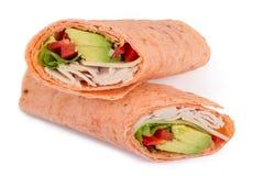 Wrap sandwich Royalty Free Stock Photos