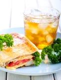Wrap sanwich Stock Image