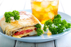 Wrap sanwich Royalty Free Stock Images