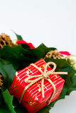 Wraped gift Stock Photography