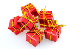 Wraped gifts Royalty Free Stock Images