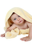 Wrapped baby Royalty Free Stock Photos