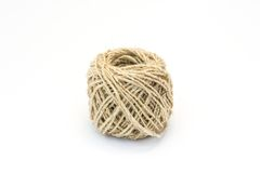 Wrapped ball of twine Royalty Free Stock Photo