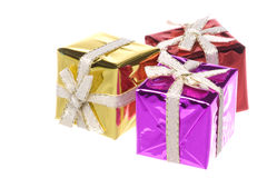 Wrapped Boxes Royalty Free Stock Photos