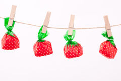 Wrapped candies Royalty Free Stock Images