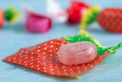 Wrapped candies Stock Image