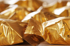Wrapped candy Stock Images