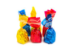 Wrapped candy or sweet Stock Images