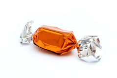 Wrapped Caramels Stock Photos