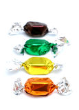 Wrapped Caramels Royalty Free Stock Photos