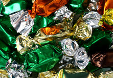 Wrapped Caramels Royalty Free Stock Photography