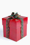 Wrapped Christmas present Stock Images