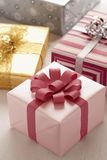 Wrapped Christmas presents Royalty Free Stock Image