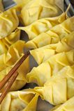 Wrapped dumplings for cooking Stock Images