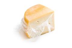 Wrapped edam cheese Stock Image