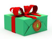 Wrapped gift Stock Image