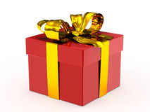 Wrapped gift Royalty Free Stock Photography