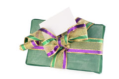 Wrapped gift Stock Images