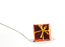 A wrapped gift Stock Photo